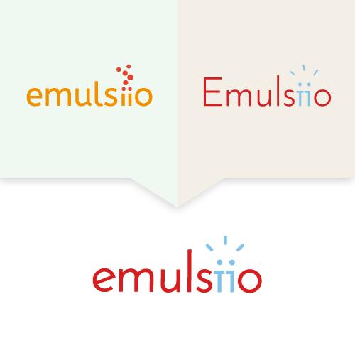 Démarche de recherche pour le logo d'Emulsiio