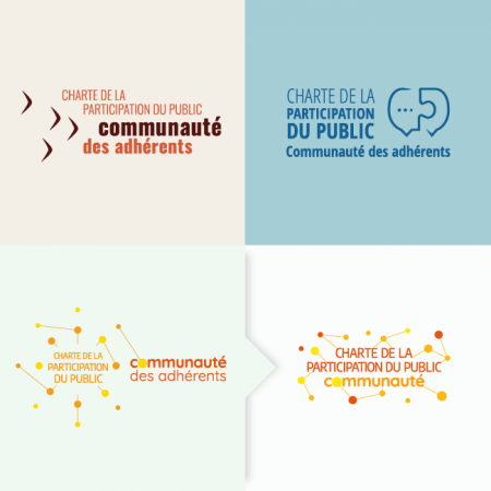 Propositions de logo et sa version finale